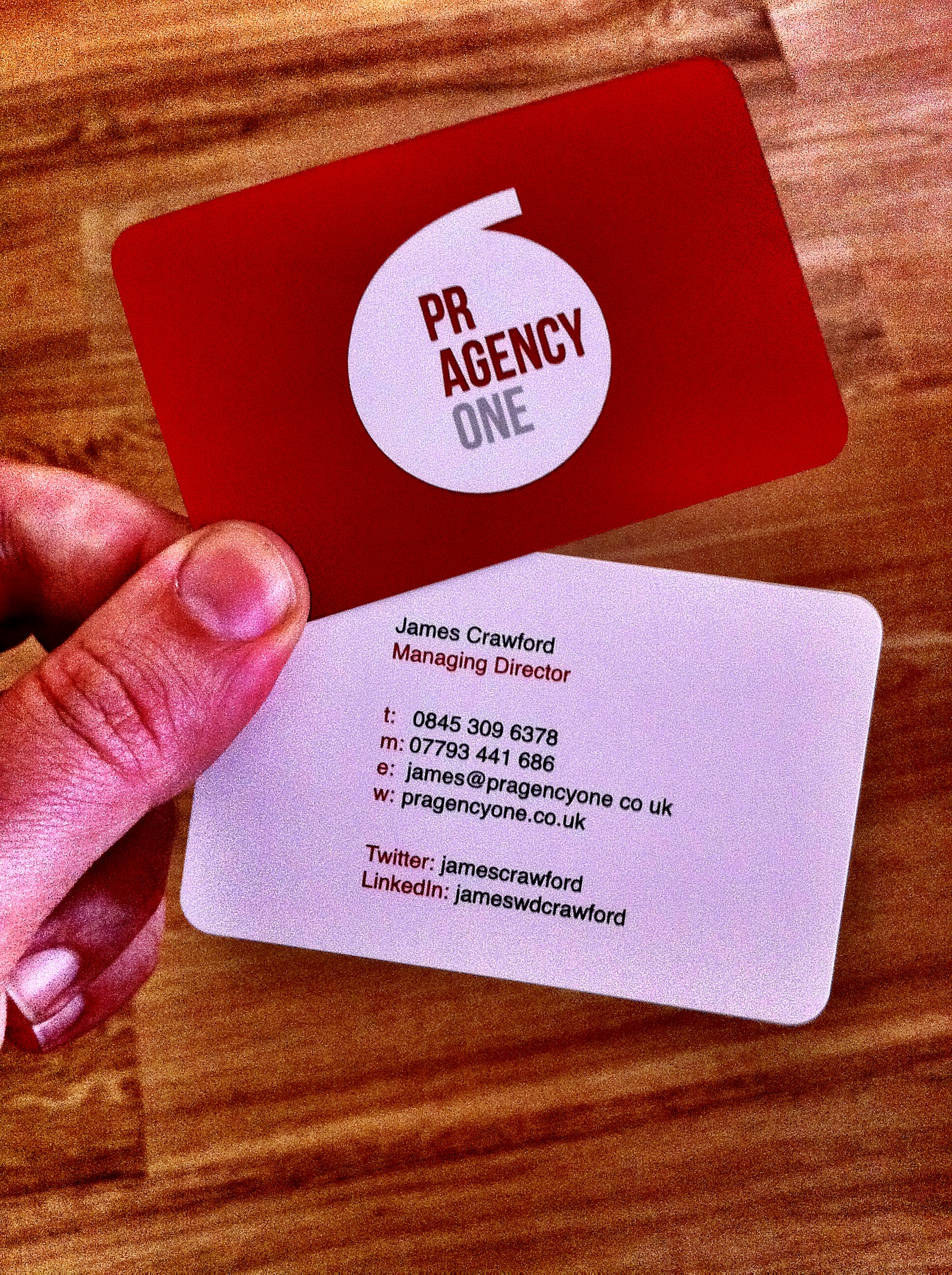 A Manchester PR Agency and its Identity - PR Agency One