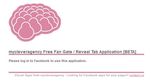 My Clever Agency Facebook Fan Gate