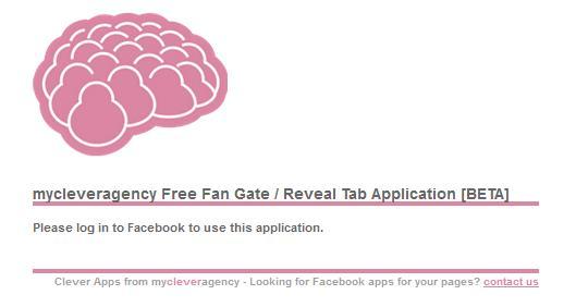 My Clever Agency Facebook Fan Gate