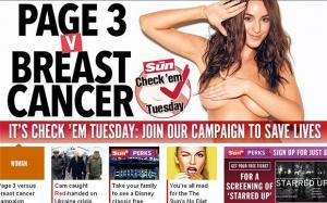 Page 3 Breast Cancer campaign
