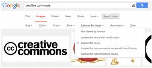 Creative Commons Images for PRs