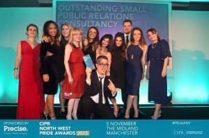 Outstanding Small PR Consultancy CIPR Awards