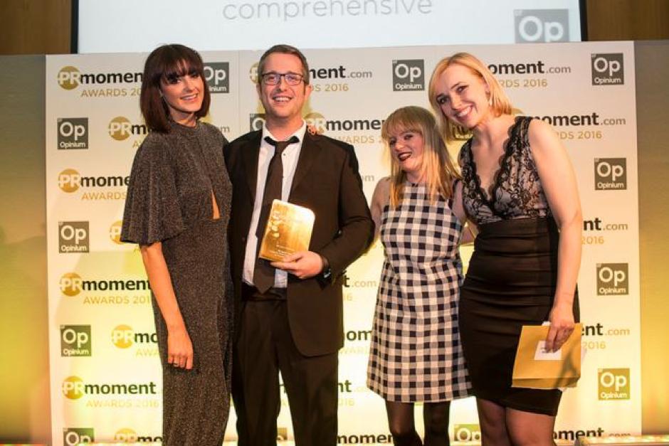 pr moment award