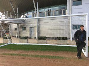 PR Agency One visits Man Utd Carrington training ground with YMCA Training