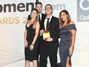 PR Agency One winning the award