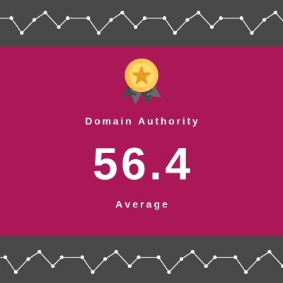 Domain Authority Results for Brand Campaign