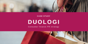 Duologi Consumer Finance PR Case Study