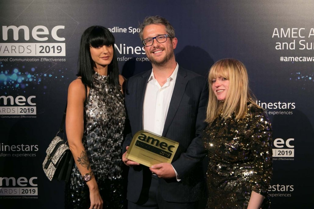 PR AGENCY ONE RECOGNISED FOR AWARD WINNING PR MEASUREMENT