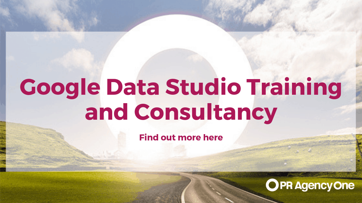 Google Data Studio Training and Consultancy