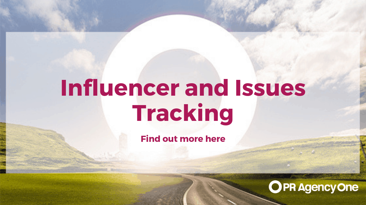 Influencer and issues tracking