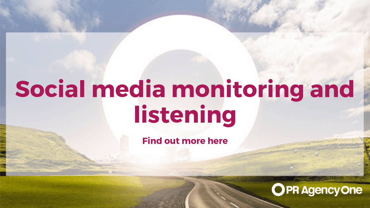Social media monitoring and listening
