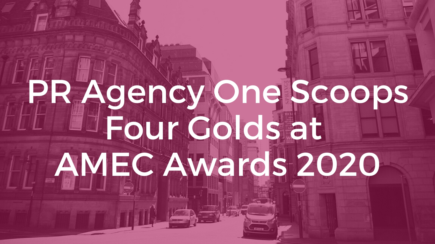AMEC Award winning PR agency